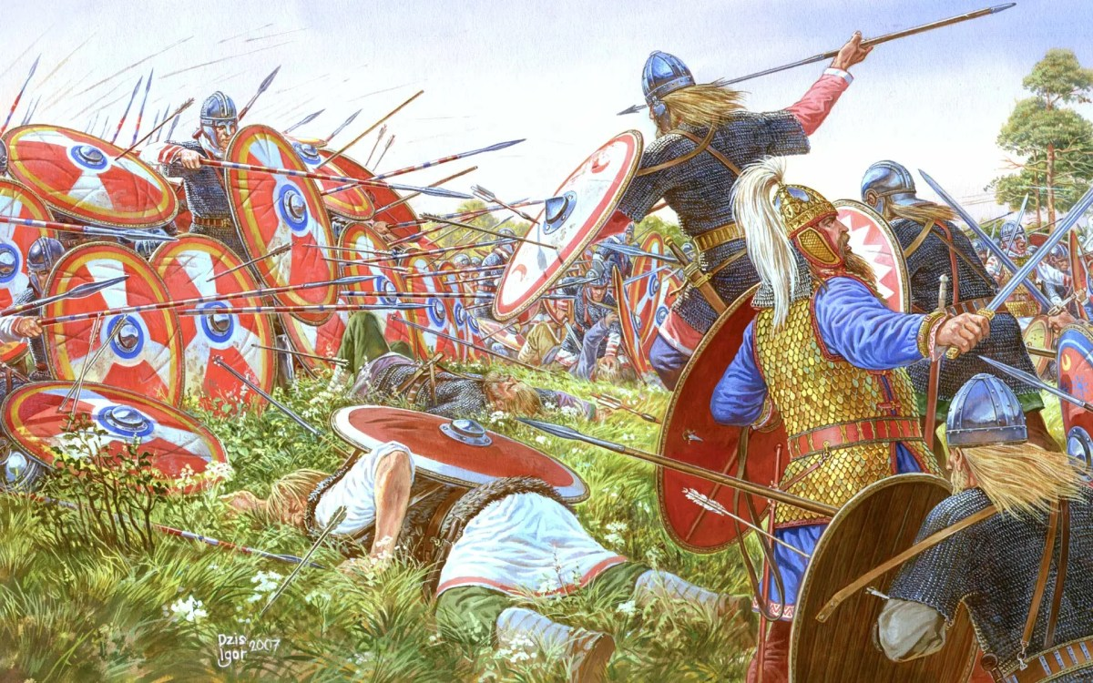 Battle of Adrianople, 378 C.E. - The Beginning of the Collapse